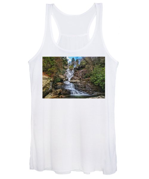 Ramsey Cascades - Tennessee Waterfall Women's Tank Top