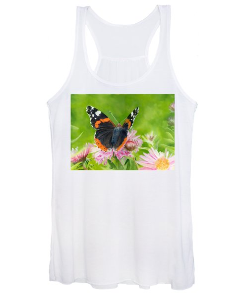 Red Admiral Women's Tank Top