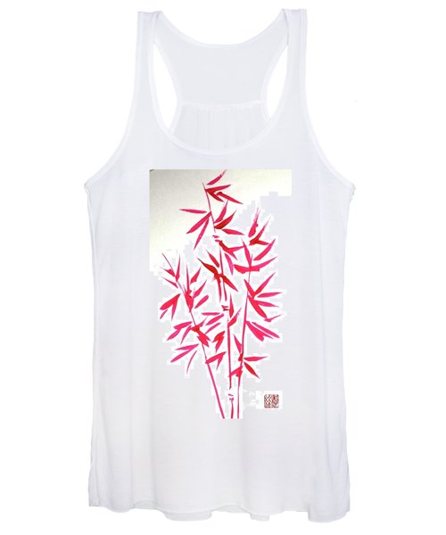 Red Bamboo Women's Tank Top