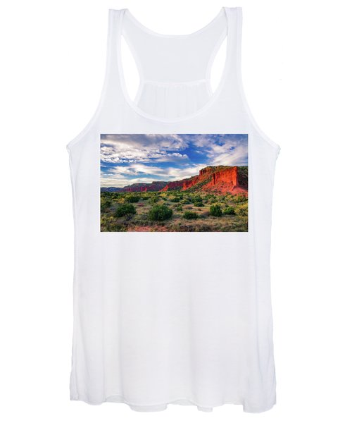 Red Cliffs Of Caprock Canyon Women's Tank Top