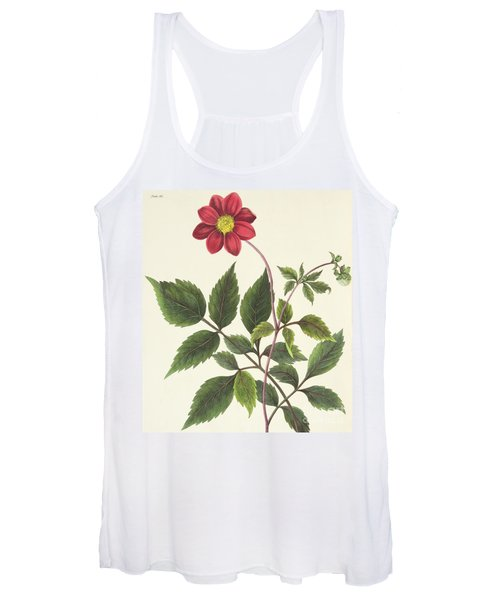 Red Dahlia Women's Tank Top