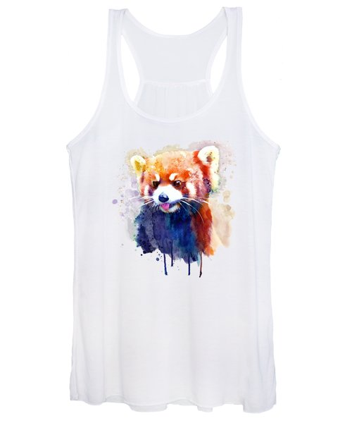 Red Panda Portrait Women's Tank Top