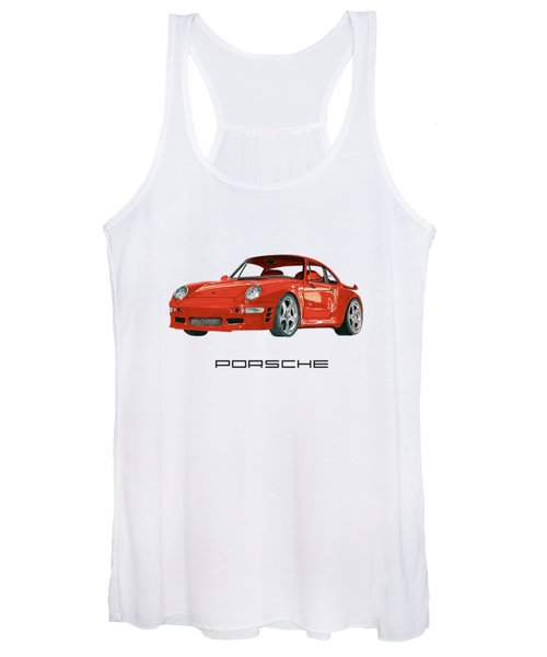 1997  Porsche 993 Twin Turbo R Women's Tank Top
