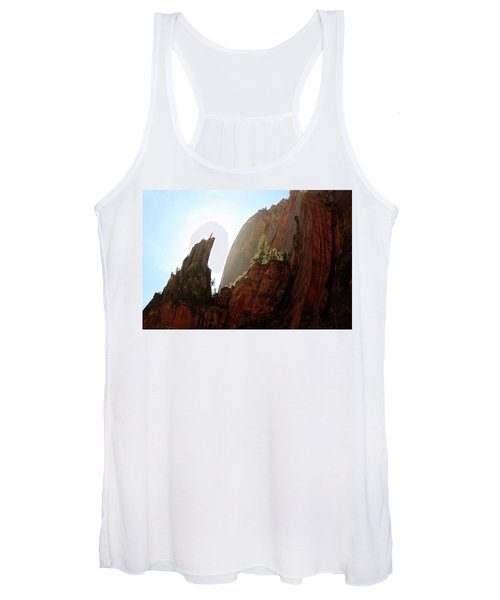Red Rock At Zion Women's Tank Top