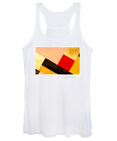 Red Square Women's Tank Top