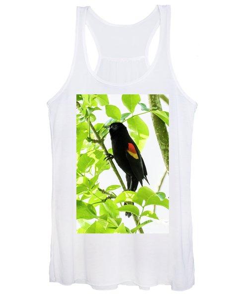 Red-winged Blackbird Women's Tank Top