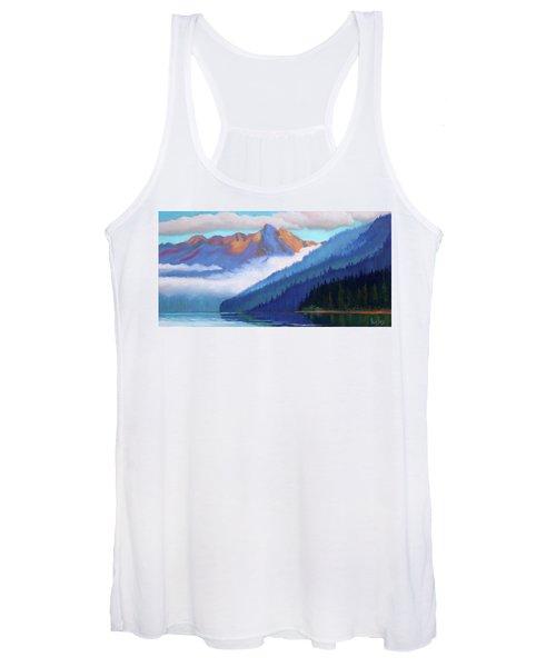 Redfish Lake - Low Clouds Women's Tank Top