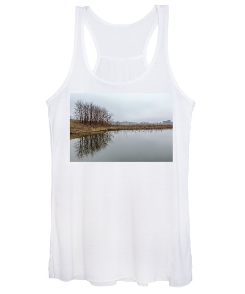 Reflected Trees Women's Tank Top