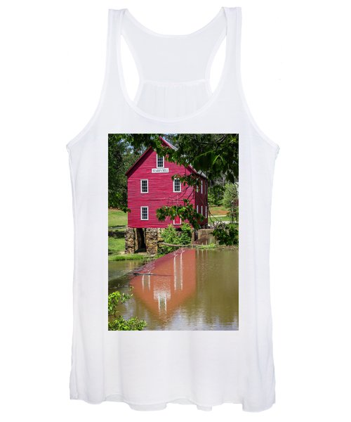 Starrs Mill Reflection Women's Tank Top