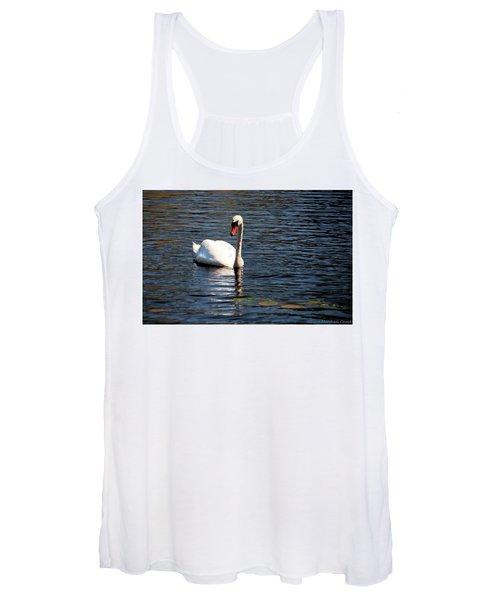Reflecting Swan Women's Tank Top