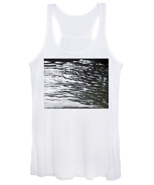 Women's Tank Top featuring the painting Reflections by Antonio Romero