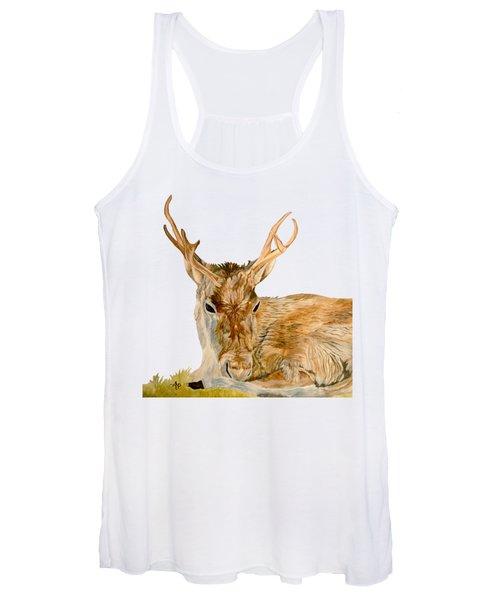 Reindeer Women's Tank Top