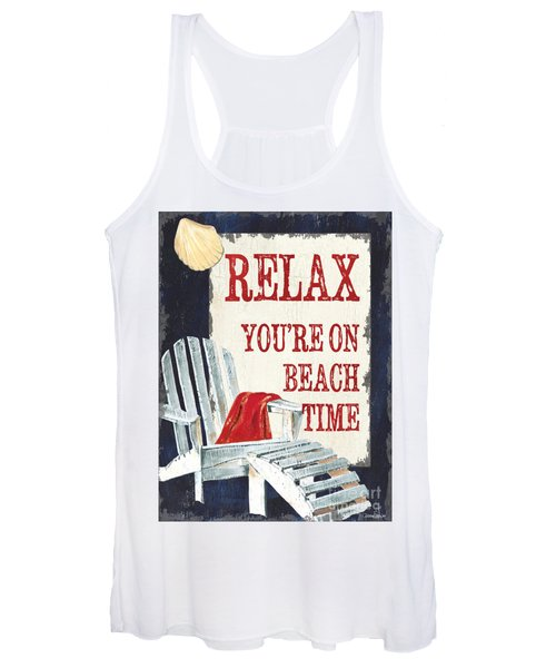 Relax You're On Beach Time Women's Tank Top