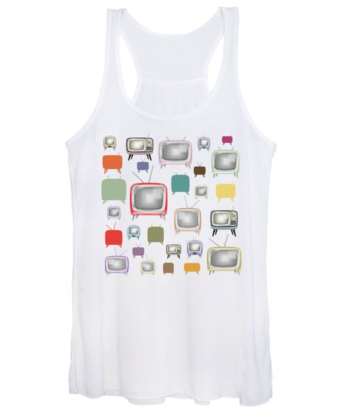 Retro T.v. Women's Tank Top