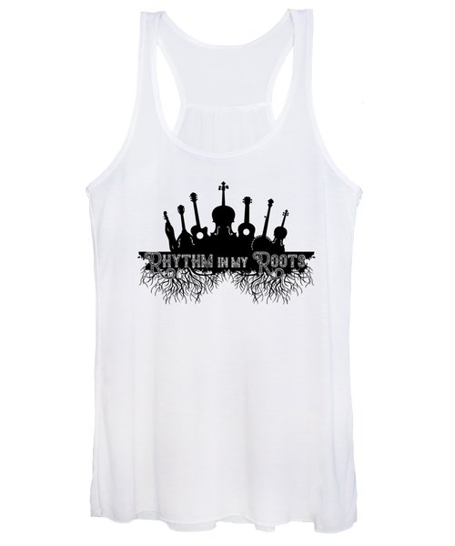 Rhythm In My Roots Women's Tank Top