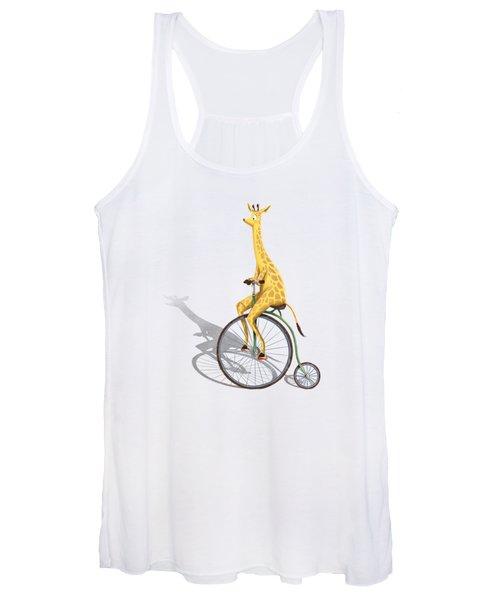 Ride My Bike Women's Tank Top