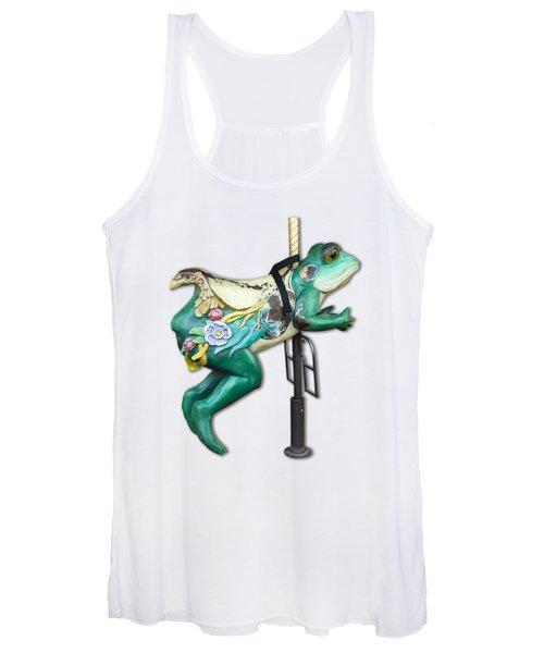 Ride The Frog Women's Tank Top