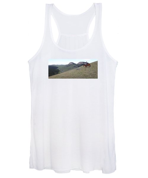 Ridge Riding Women's Tank Top