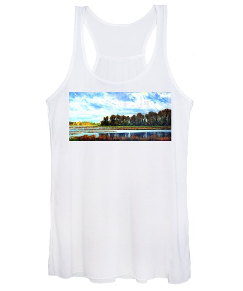 Ridgefield Refuge Early Fall Women's Tank Top