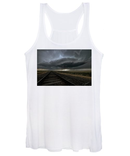 Right On Track Women's Tank Top
