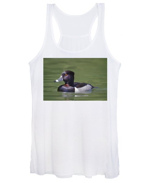 Ring-necked Duck Profile Women's Tank Top