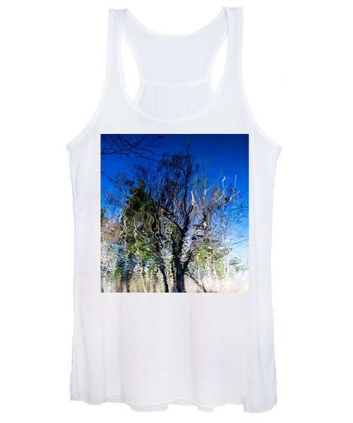 Rippled Reflection Women's Tank Top