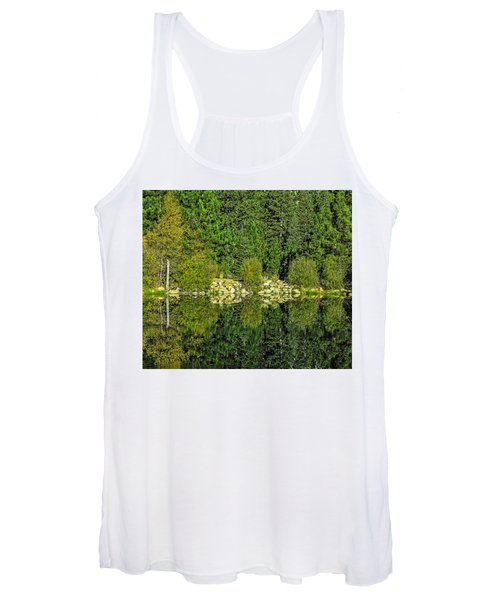 Ripples And Reflection-edit-2 Women's Tank Top