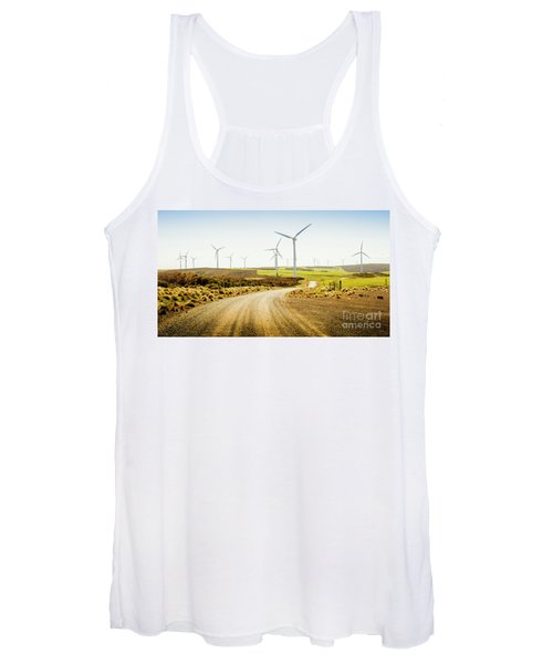 Road To Natural Energy Women's Tank Top