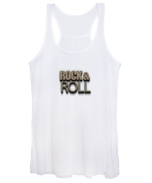 Rock And Roll Tee Stone Women's Tank Top