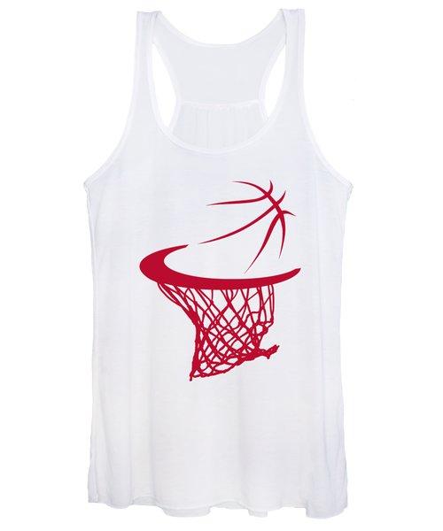 Rockets Basketball Hoop Women's Tank Top