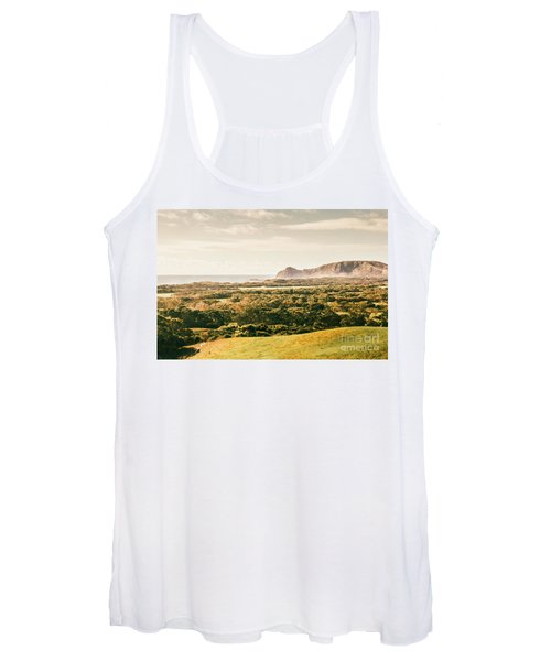 Rocky Capes And Rugged Coasts Women's Tank Top