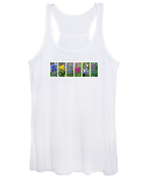 Rocky Mountain Wildflower Collection Women's Tank Top