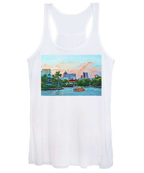 Rolling Down The New River Women's Tank Top
