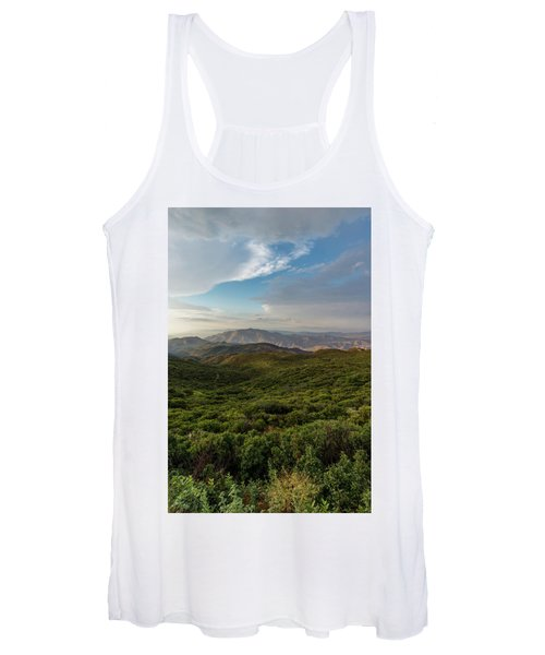 Rolling Hills Of Chaparral Women's Tank Top