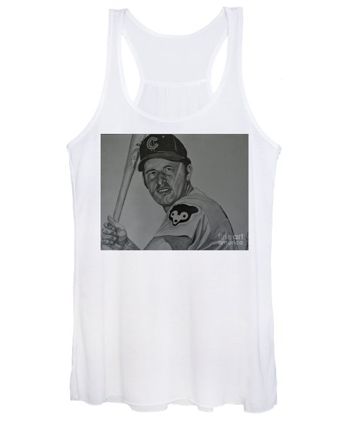 Ron Santo Portrait Women's Tank Top