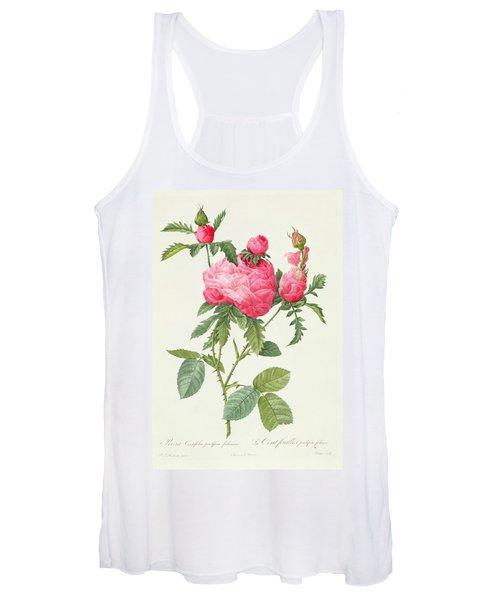 Rosa Centifolia Prolifera Foliacea Women's Tank Top