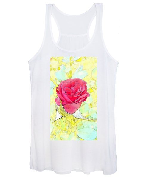 Rosebud Women's Tank Top