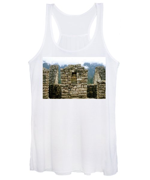 Ruins In A Lost City Women's Tank Top