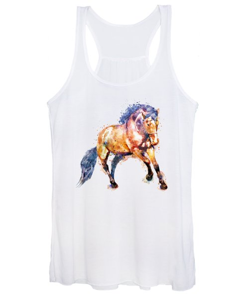 Running Horse Women's Tank Top