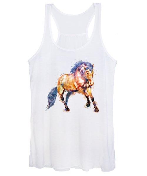 Running Horse Women's Tank Top