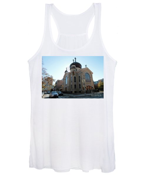 Russian Orthodox Cathedral Of The Transfiguration Of Our Lord Women's Tank Top