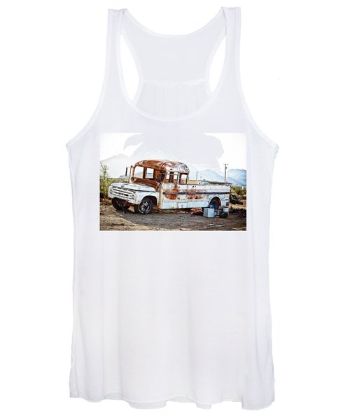 Rusted Abandoned Truck Women's Tank Top