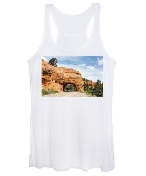 Rv Red Canyon Tunnel Utah Women's Tank Top