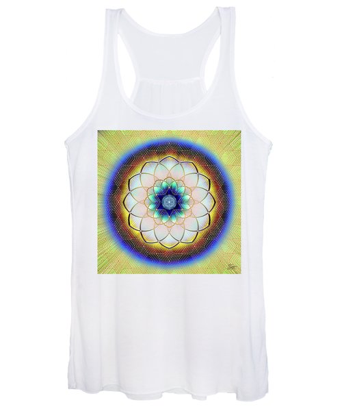 Sacred Geometry 723 Women's Tank Top