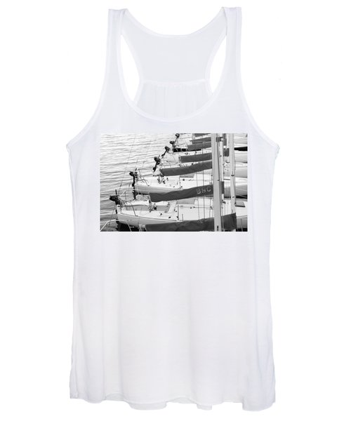 Sailboats Women's Tank Top