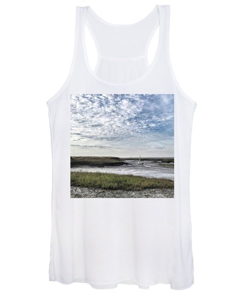Salt Marsh And Creek, Brancaster Women's Tank Top