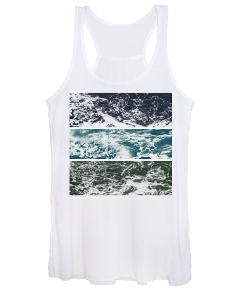 Salt Water Triptych Variation 2 Women's Tank Top