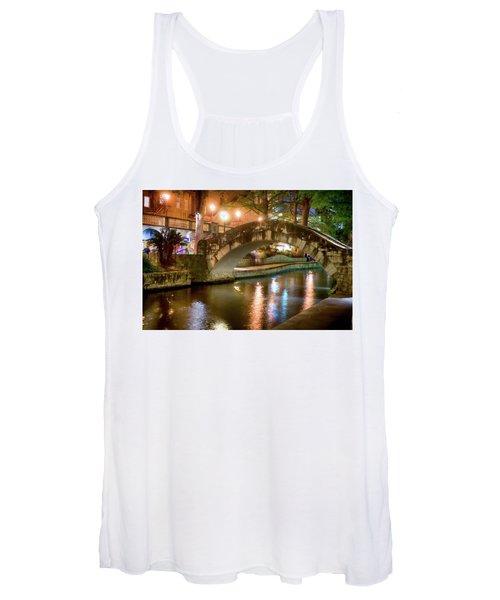 San Antonio River Walk V1 Women's Tank Top
