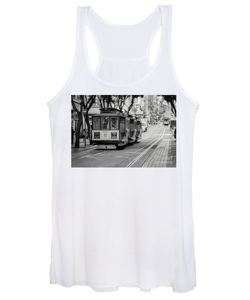 San Francisco Cable Cars Women's Tank Top
