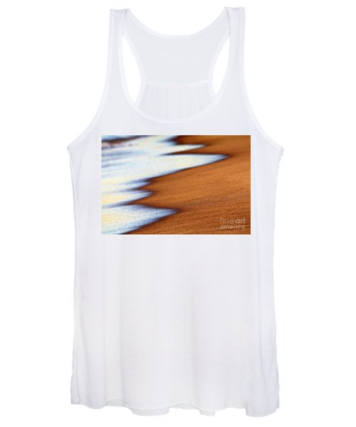 Sand And Waves Women's Tank Top